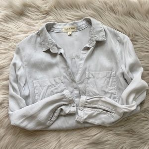 Anthropologie Cloth and Stone tencel button down